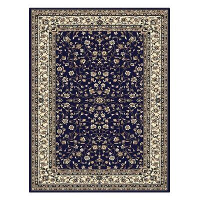 Palais Zari Oriental Rug, 160x230cm, Dark Blue