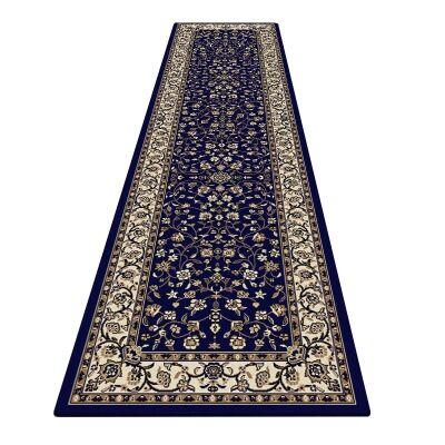 Palais Zari Oriental Runner Rug, 80x300cm, Dark Blue