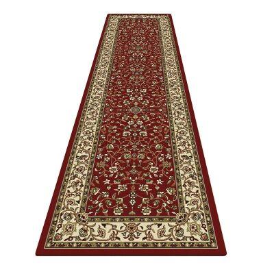 Palais Zari Oriental Runner Rug, 80x300cm, Red