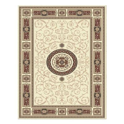 Palais Kashan Oriental Rug, 160x230cm, Cream
