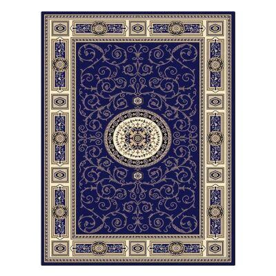 Palais Kashan Oriental Rug, 200x290cm, Dark Blue