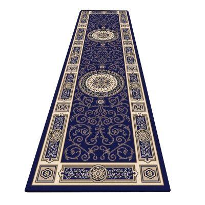 Palais Kashan Oriental Runner Rug, 80x300cm, Dark Blue