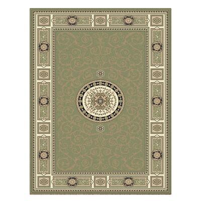 Palais Kashan Oriental Rug, 160x230cm, Green