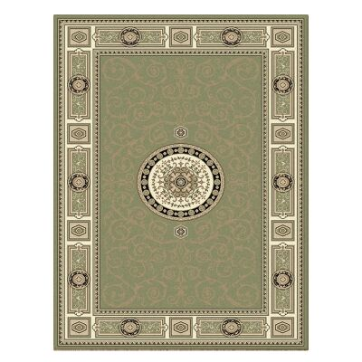 Palais Kashan Oriental Rug, 300x400cm, Green