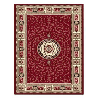 Palais Kashan Oriental Rug, 80x150cm, Red
