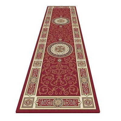 Palais Kashan Oriental Runner Rug, 80x300cm, Red