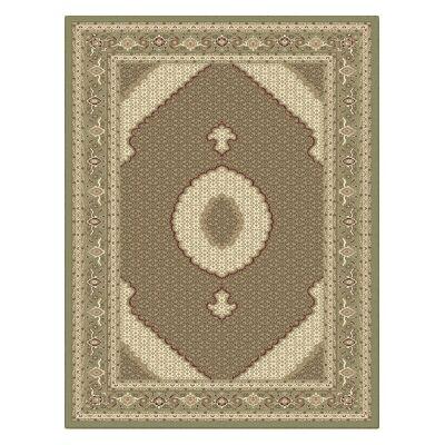 Palais Serapi Oriental Rug, 160x230cm, Green