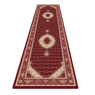 Palais Serapi Oriental Runner Rug, 80x300cm, Red