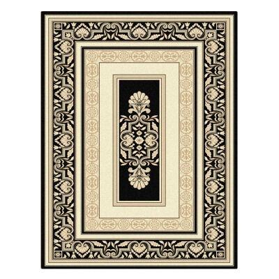 Palais Kirman Oriental Rug, 160x230cm, Black