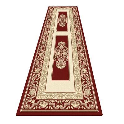 Palais Kirman Oriental Runner Rug, 80x300cm, Red
