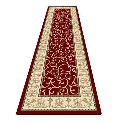 Palais Kazak Oriental Runner Rug, 80x300cm, Red