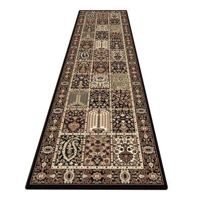 Palais Vida Oriental Runner Rug, 80x300cm, Black / Cream