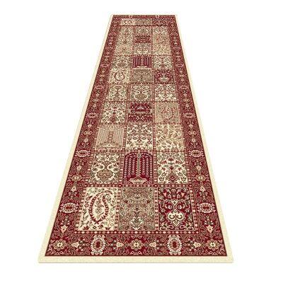 Palais Vida Oriental Runner Rug, 80x300cm, Red / Cream