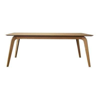 Peoria Ashwood Dining Table, 180cm