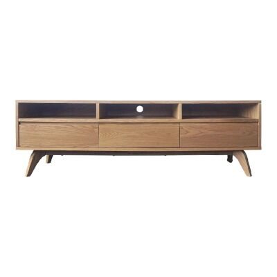 Peoria Ashwood 3 Drawer TV Unit, 160cm