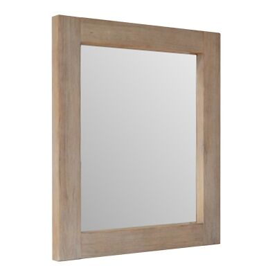 Prescot Mountain Ash Timber Framed Dressing Mirror, 100cm