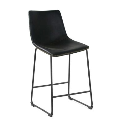 Perry PU Leather Bar Stool