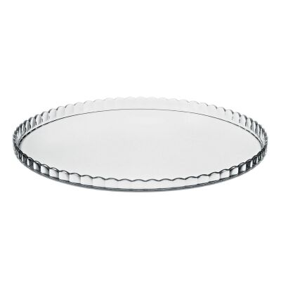 Pasabahce Patisserie Glass Service Plate