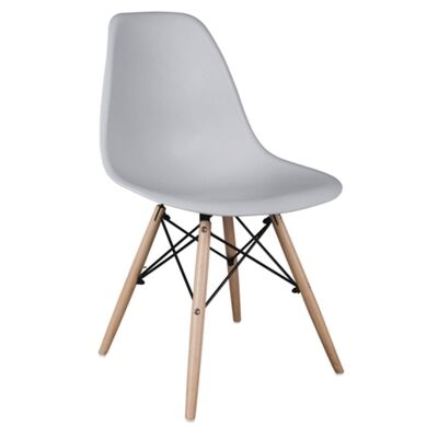 Harbour Replica Eames DSW Dining Chair, Grey