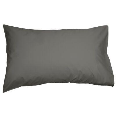 Ajee 2 Piece Cotton Pillowcase Set, Charcoal