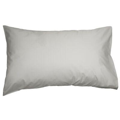 Ajee 2 Piece Cotton Pillowcase Set, Silver