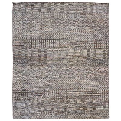 Perry Hand Knotted Wool Rug, 370x275cm, Ivory / Beige