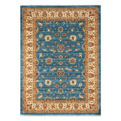 Nevada Kobra Oriental Rug, 160x240cm, Blue