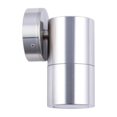 Roslin IP65 Exterior Fixed Down Wall Light, GU10, Anodized Aluminium