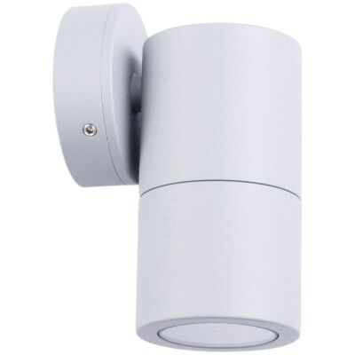 Roslin IP65 Exterior Fixed Down Wall Light, GU10, Grey