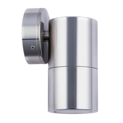 Roslin IP65 Exterior Fixed Down Wall Light, GU10, Titanium