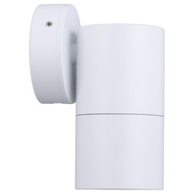 Roslin IP65 Exterior Fixed Down Wall Light, GU10, White