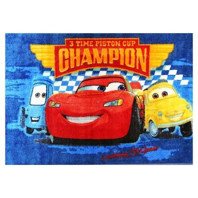 Essna Cars Cup Egyptian Made 133x200cm Kids Rug