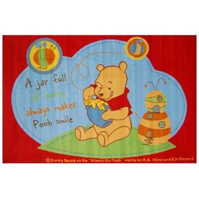 Winnie The Pooh Egyptian Made 100x150cm Kids Rug