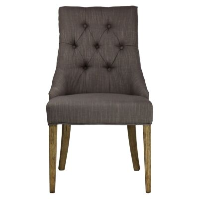 Brigitte Tufted Fabric Dining Chair