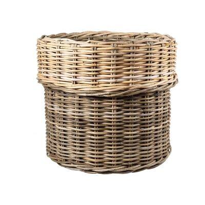 Luxe Rattan Laundry Hamper Basket
