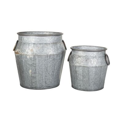 Ling 2 Piece Zinc Pot Set