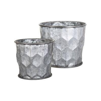 Raeyan 2 Piece Zinc Pot Set
