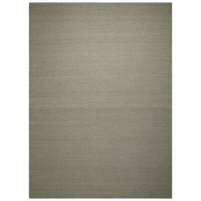 Portobello Flatweave Wool Rug, 220x160cm, Oatmeal