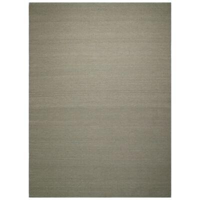 Portobello Flatweave Wool Rug, 270x180cm, Oatmeal
