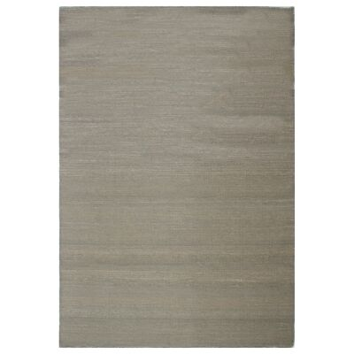Portobello Flatweave Wool Rug, 220x160cm, Possum