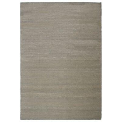 Portobello Flatweave Wool Rug, 270x180cm, Possum