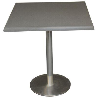 Caltana Commercial Grade Square Dining Table, 70cm, Granite