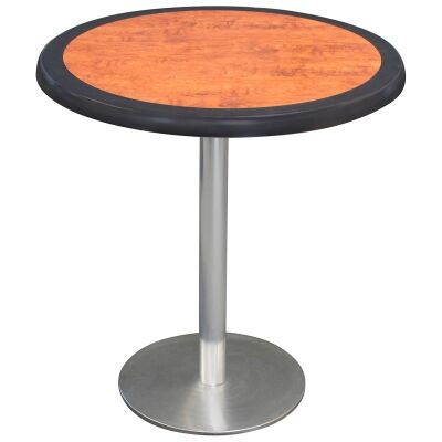 Caltana Commercial Grade Round Dining Table, 80cm, Cherrywood