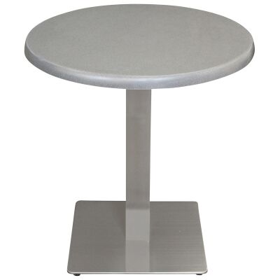 Barona Commercial Grade Round Dining Table, 70cm, Granite