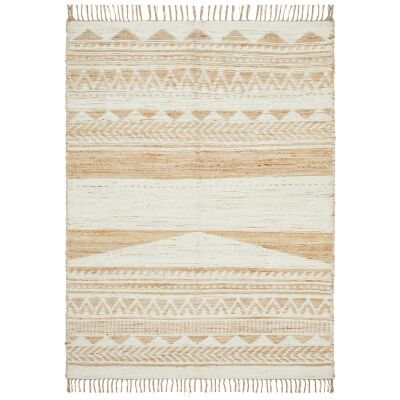 Parade Giselle Hand Loomed Jute & Cotton Chenille Rug, 230x320cm