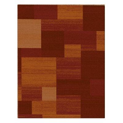 Serenity Irene Modern Rug, 160x230cm, Red