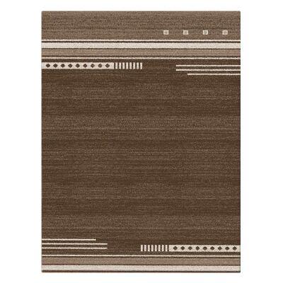 Serenity Brooke Modern Rug, 160x230cm, Brown