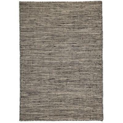 Pronto Handwoven Wool Rug, 290x200cm, Charcoal