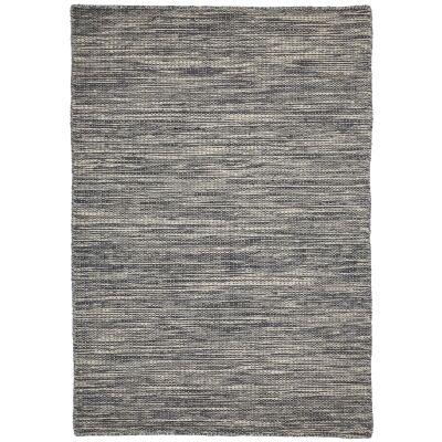 Pronto Handwoven Wool Rug, 290x200cm, Grey