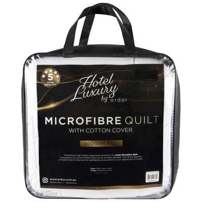 Ardor Hotel Luxury Microfibre Quilt, Double